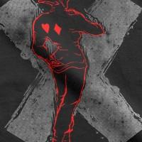 Design T-shirt Hunter x Hunter Hisoka dos