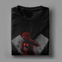 T-shirt Hunter x Hunter Hisoka dos
