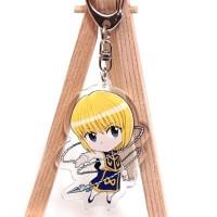 Porte-clé Hunter x Hunter Kurapika chaine