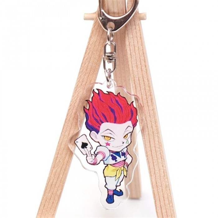 Porte-clé Hunter x Hunter Hisoka carte as de pique