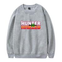 Sweat logo Hunter x Hunter gris chiné
