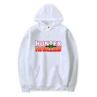 Sweat capuche logo Hunter x Hunter blanc
