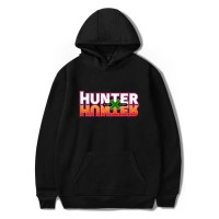 Sweat capuche logo Hunter x Hunter noir