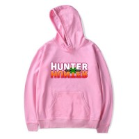 Sweat capuche logo Hunter x Hunter rose