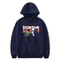 Sweat capuche Hunter x Hunter bleu marine