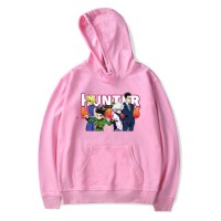 Sweat capuche Hunter x Hunter rose