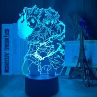 Lampe 3D Hunter x Hunter Gon & Kirua