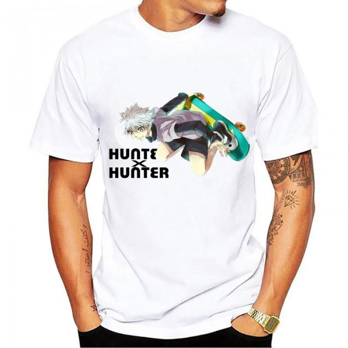 T-shirt Hunter de Kirua en skate