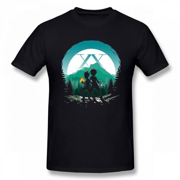 T-shirt Hunter x Hunter : Silhouettes Gon & Kirua