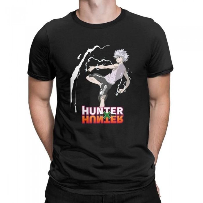 T-shirt Hunter x Hunter Kirua électrique